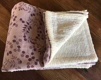 Organic Cotton Chenille Baby Blanket