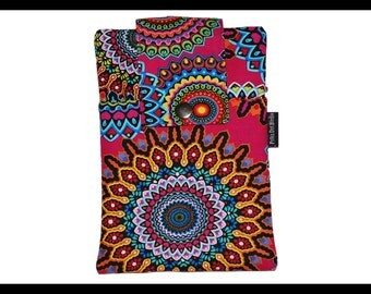Tribal Zipper Cell Phone Holder, Wallet, iPhone Case, Samsung Case, Droid, Phone Case