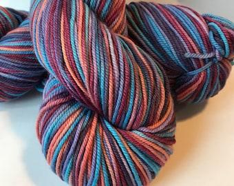 POSH Merino, cashmere, nylon Sport yarn, Bombshell