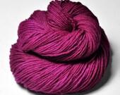 Electric light purple - Merino/Manx Fingering Yarn