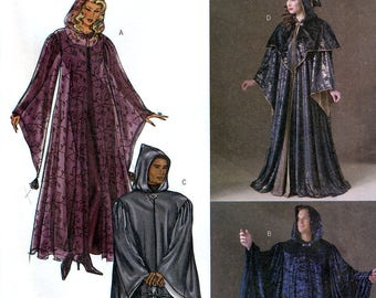 Butterick 4050 Sewing Pattern for Unisex Adult Robes - Uncut - Size L, XL