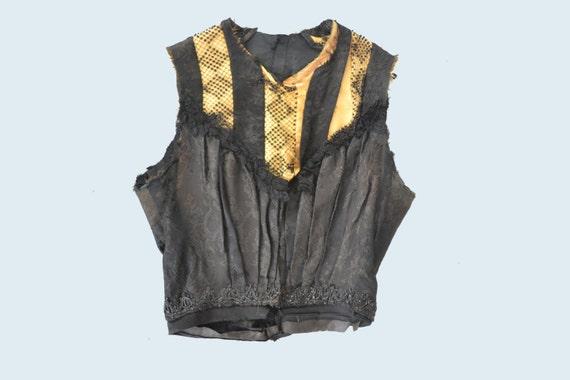 Victorian Beaded Vest size XXS