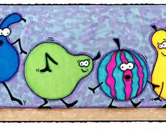 Ten Gourds a Creeping