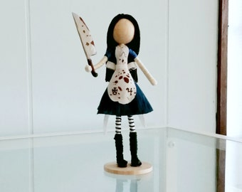American McGee's Alice in Wonderland Inspired Doll