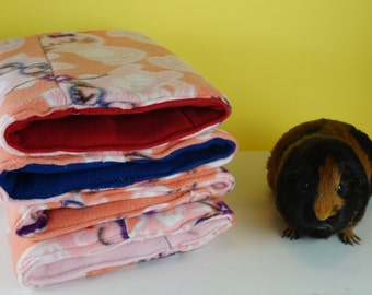 Smart cat fleece collection guinea pig tunnel, guinea pig bed
