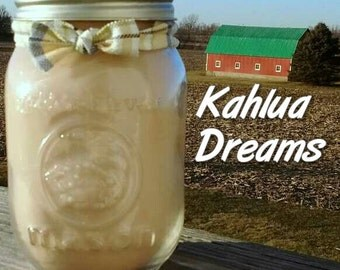 Kahlua Dreams Soy Candle in 16 oz Jar