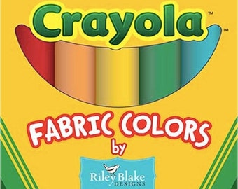 Sale Crayola Solids Fat Quarter Box Of 10