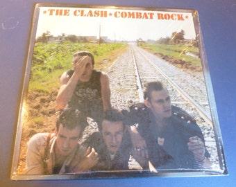 The Clash Combat Rock Vinyl Record FE 37689 Epic Records 1982