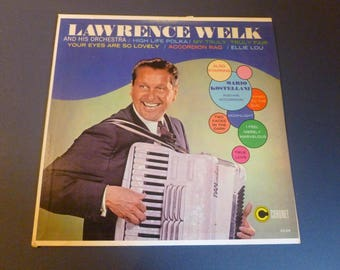 Lawrence Welk And His Orchestra Vinyl Record LP CX 275-A Coronet Records