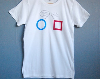 SALE! You're a square printed t-shirt