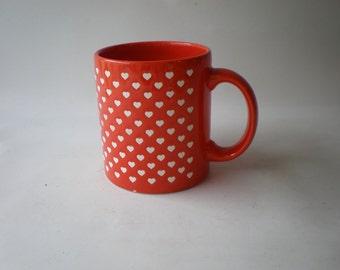 Vintage Waechtersbach Heart Mug