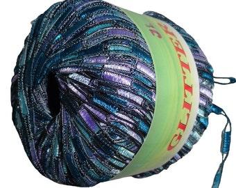 Glitter Trail Ladder Trellis Yarn col 318 free shipping
