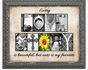 LOVE STORY Alphabet Photography, Letter Photos -  8x10, 11x14 framed black - 16x20 framed gray