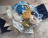 Sale couture headband , Baby girl headband , child headband , couture headband