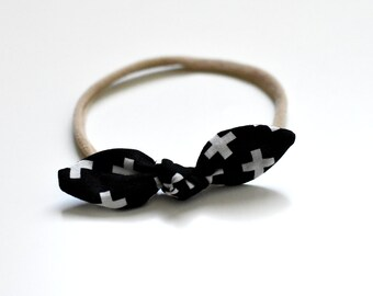Knot Baby Headband - Baby Bow Headband - Toddler Bow Headband