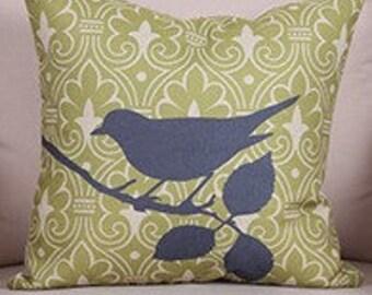 Bird Pillow Cover