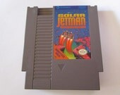 SOLAR JETMAN--Vintage Nintendo (NES) Tested and Works