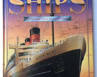Old Hardcover Books, Old Books For Sale, Used Books For Sale, Books and Zines, Ships-A Stunning Visual History of Ships by Richard Humble
