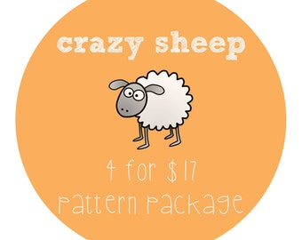 4 Patterns Package Discount / Choose Any 4 PDF Patterns