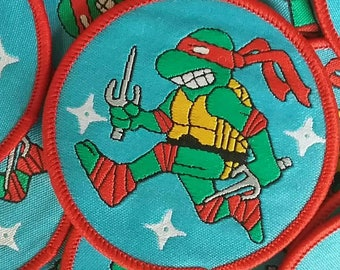 Teenage Mutant Ninja Turtles Sew On Patch