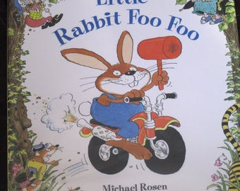 Little Rabbit Foo Foo Book Hardcover