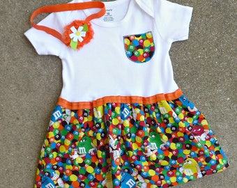 M & M Baby Dress / Baby Toddler Dress