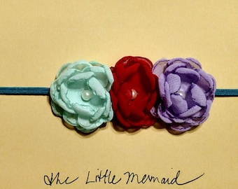 Little Mermaid Baby Headband