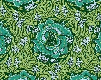 Take Flight - JADE - PER 25CM - Amy Butler - VIOLETTE - PWAB140 - 100% Cotton Quilt Fabric