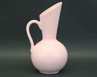 Vintage Mid Mod Pink Royal Haeger Pitcher Vase (E8244)