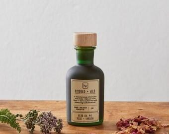 Herb Oil #3: Rose + Yarrow