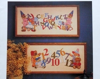50%OFF Michael Hague ALPHABEARS ALPHABET Sampler By Dimensions - Counted Cross Stitch Pattern Chart