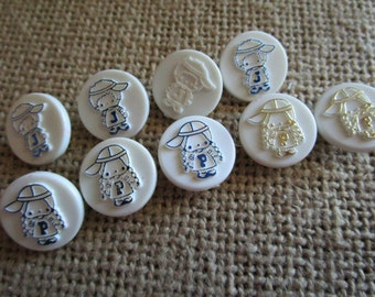 Sanrio Assorted Embossed Buttons