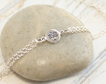Sterling Silver Petite Tree of Life Bracelet... Roots of Friendship