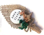 Dinosaur Cute Buttonhole for your Page Boy or Best Little Man - Perfect keepsake for Weddings