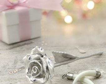 14th Anniversary Gift Everlasting Rose - 14 Year Anniversary Gift Idea