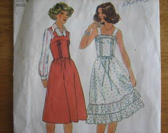 Simplicity Pattern 8015 Misses' Dress or Jumper      1977       Uncut
