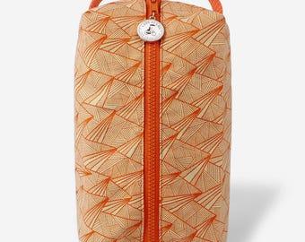 Box Zip: Paper Plane-Orange