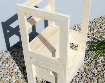 12 Inch Tall Step Stool Unfinished By Emmersonwoodworks On