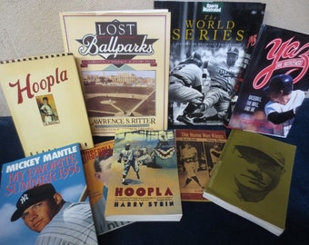Baseball Book Lot (10) Instant Sports Collection Hardcover 1st Ed. Paperback Mix