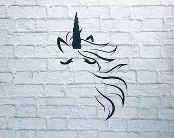 Unicorn Vinyl Decal