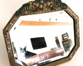 Vintage Small table vanity mirror