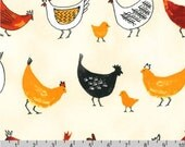 Metro Market - Chicken Natural by Margaret Berg from Robert Kaufman