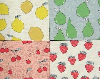 FRUITS organic cotton jersey