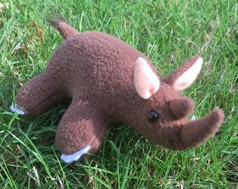 Woolly Rhinoceros Plush