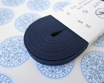 "Elastic Skinny Headband  Blue 1/4"" width 5MT"