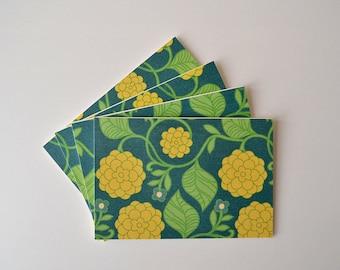 Folded Card Set  - Note Cards - Stationary - Set of 4