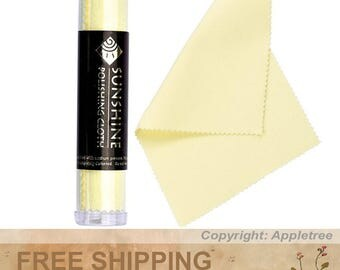 1 Tube Sunshine Polishing Cloth for Sterling Silver, Gold, Brass and Copper Jewelry