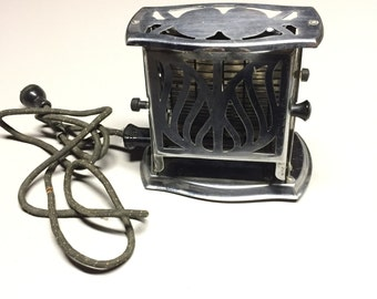 Art Deco 2 Sided Toaster