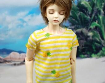 Super Gem/SD17 Pineapple Stripe T Shirt For SD BJD