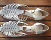SPINE   ///    VTG Leather Huaraches